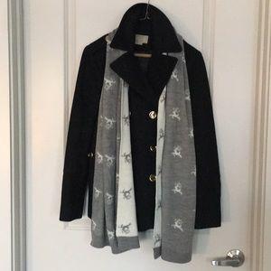LOFT reindeer scarf